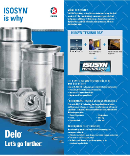 Delo<sup>®</sup>  with ISOSYN Technology